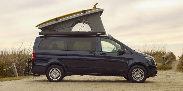 2020 Mercedes Benz Weekender Camper Van side