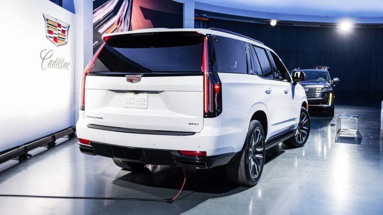 2021 Cadillac Escalade back
