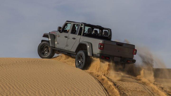 2021 Jeep Gladiator Mojave back