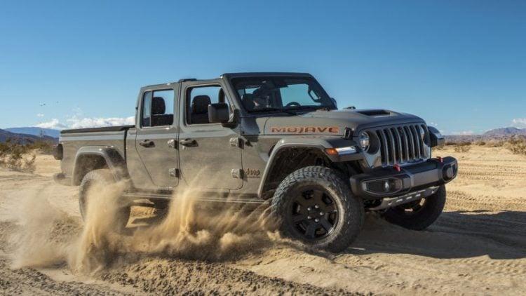 2021 Jeep Gladiator Mojave side