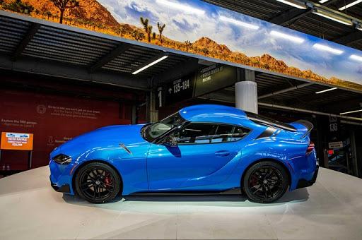 2021 Toyota Supra side