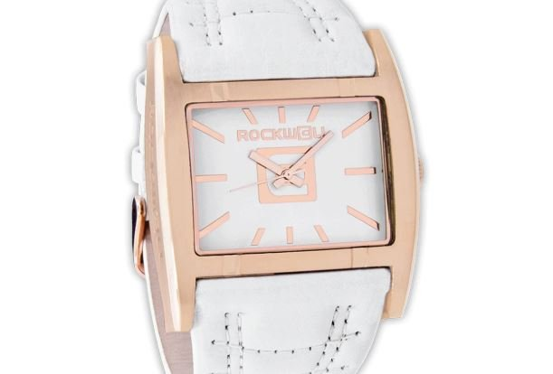 Apostle rose gold white