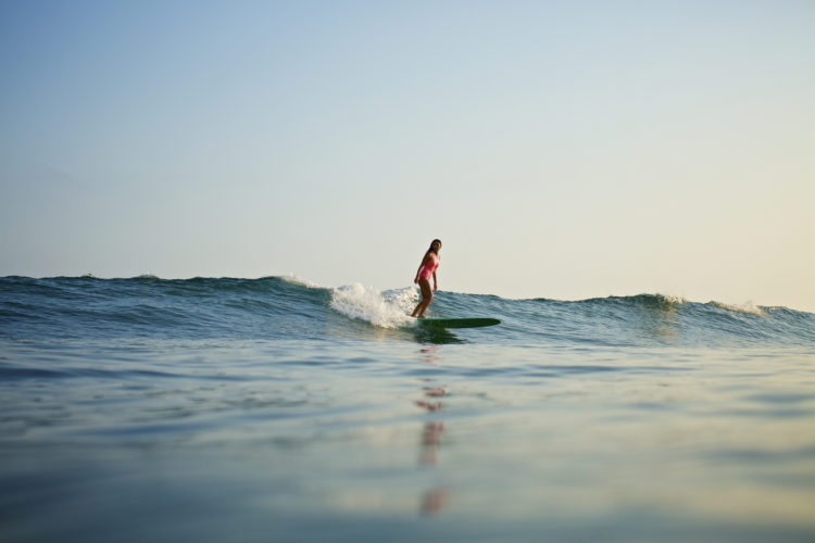 Surfing at Sayulita