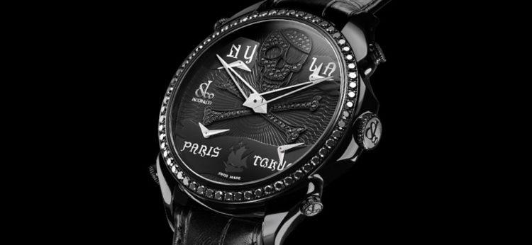 Palatial Five-Time Zone Pirate Black Timepiece