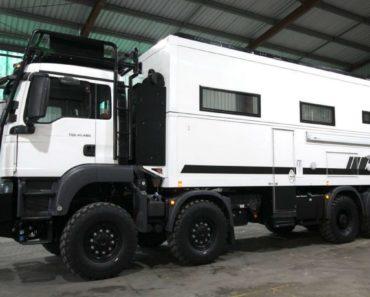 SLRV Commander 8x8 Camper