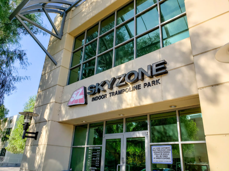 Sky Zone Anaheim Trampoline Park