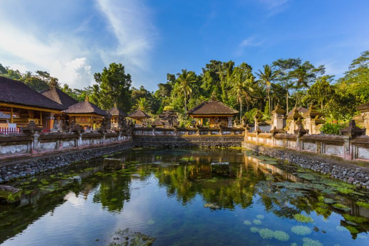 Serenity of Tirta Empul Temple