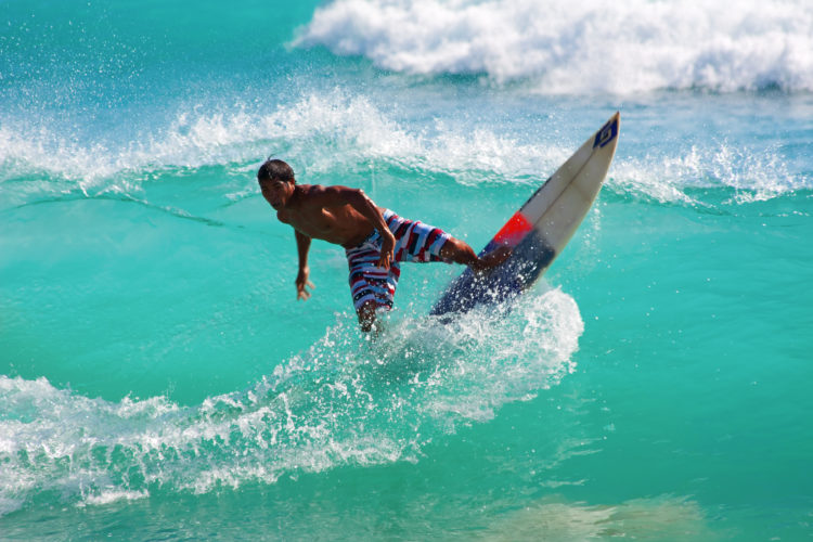 Surfing at Dreamlands