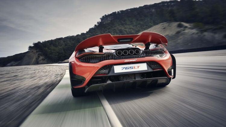 2020 McLaren 765LT back 1