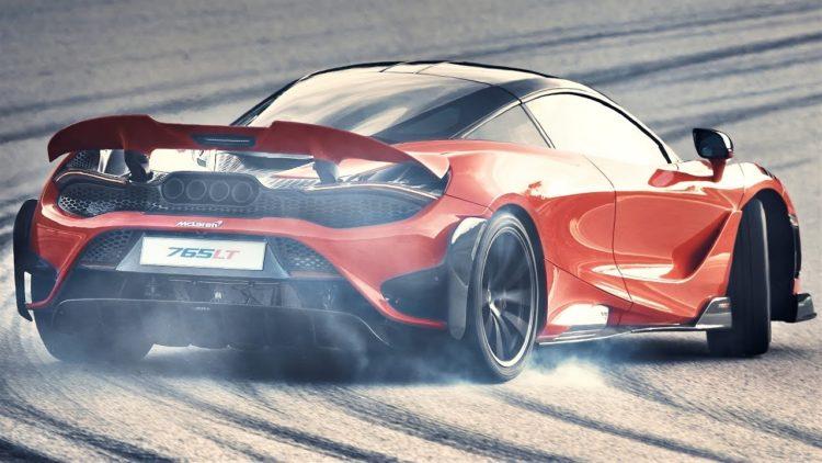 2020 McLaren 765LT back