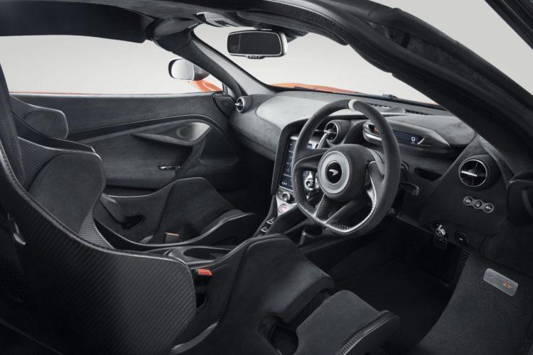 2020 McLaren 765LT interior