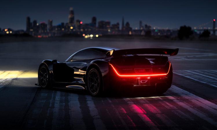 2021 Czinger 21C Hybrid Hypercar back 2