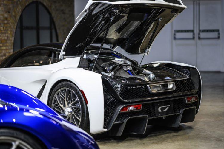 2021 Czinger 21C Hybrid Hypercar back