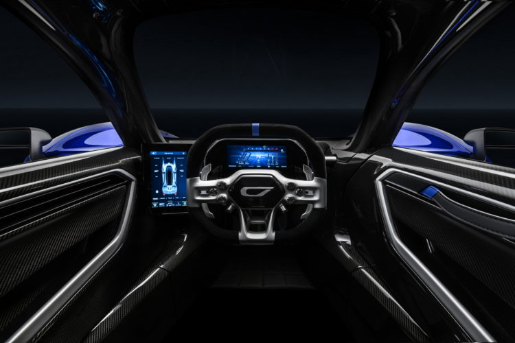 2021 Czinger 21C Hybrid Hypercar interior