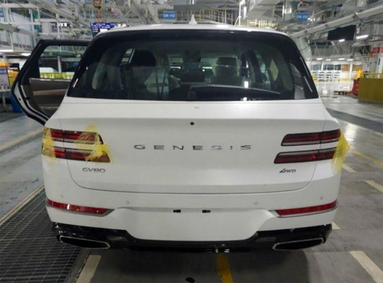 2021 Genesis GV80 back 1