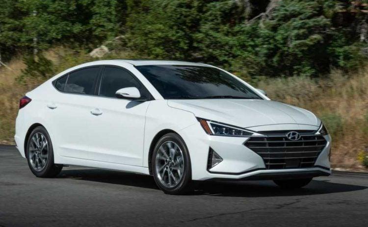 2021 Hyundai Elantra side