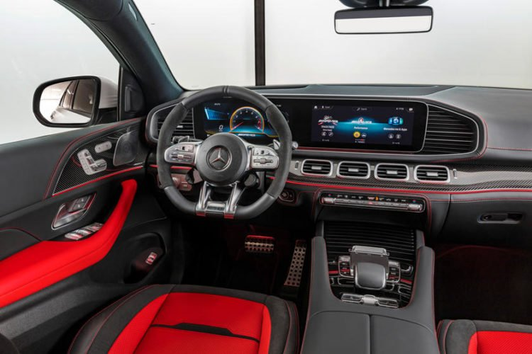 2021 Mercedes-AMG GLE interior