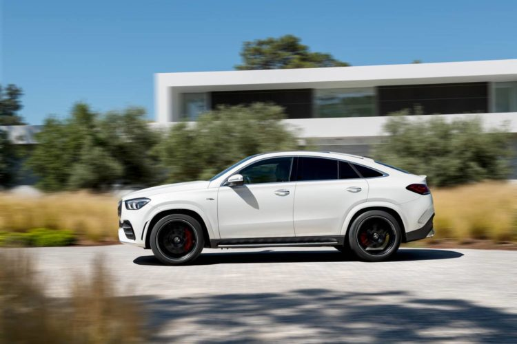 2021 Mercedes-AMG GLE side