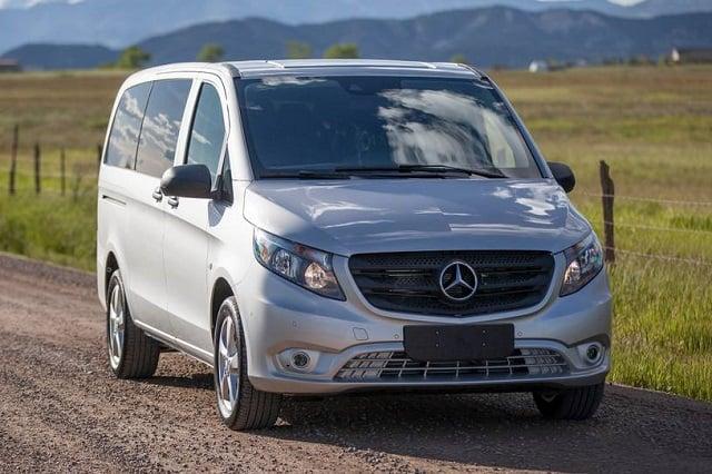 2021 Mercedes-Benz Metris Work Van 2