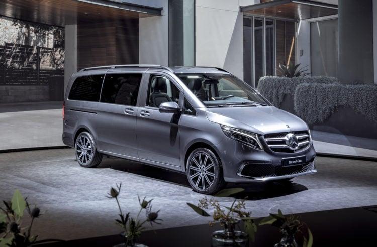 2021 Mercedes-Benz Metris Work Van side