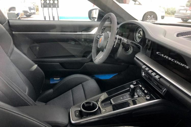 2021 Porsche 911 Turbo S interior 2