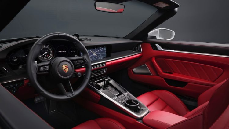 2021 Porsche 911 Turbo S interior
