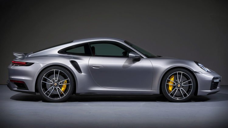 2021 Porsche 911 Turbo S side