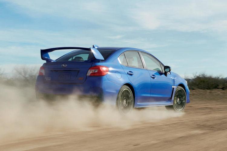 2022 Subaru WRX STI back