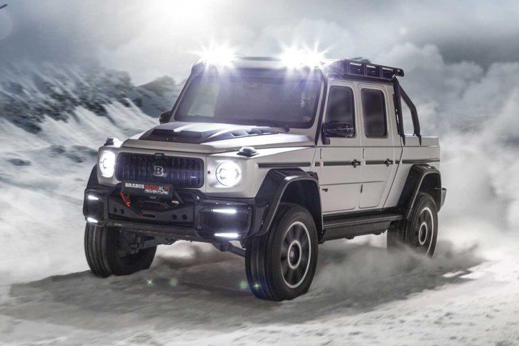 Brabus 800 XLP Pickup 1