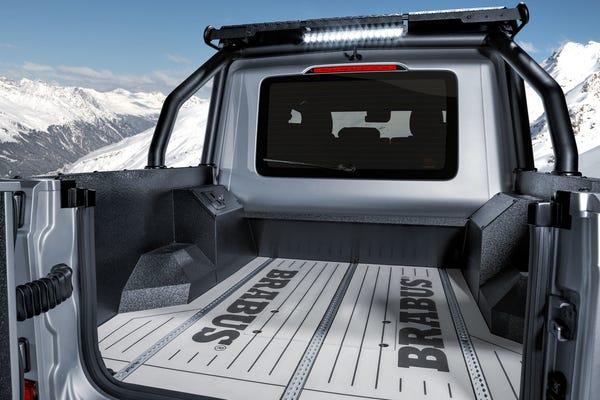 Brabus 800 XLP Pickup back