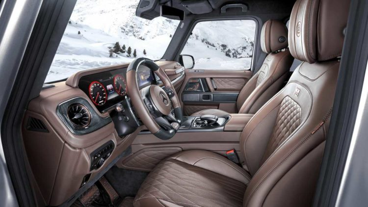 Brabus 800 XLP Pickup interior