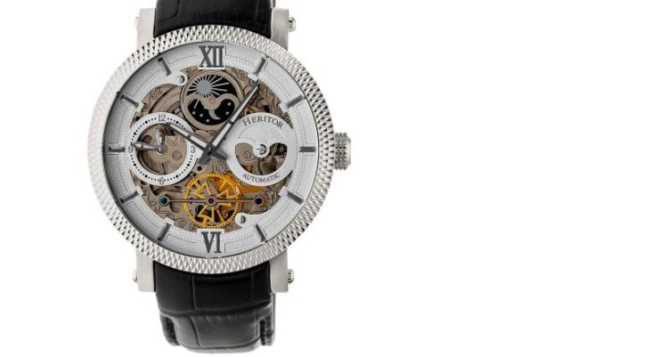 Heritor Automatic Aries Watch