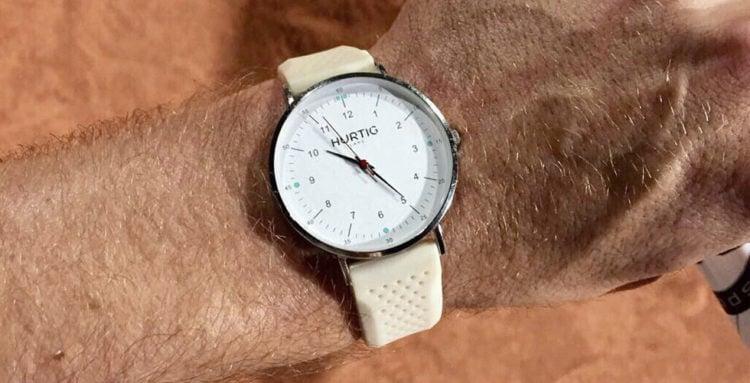 Hurtig Lane's Eco-Friendly Moderno Watch