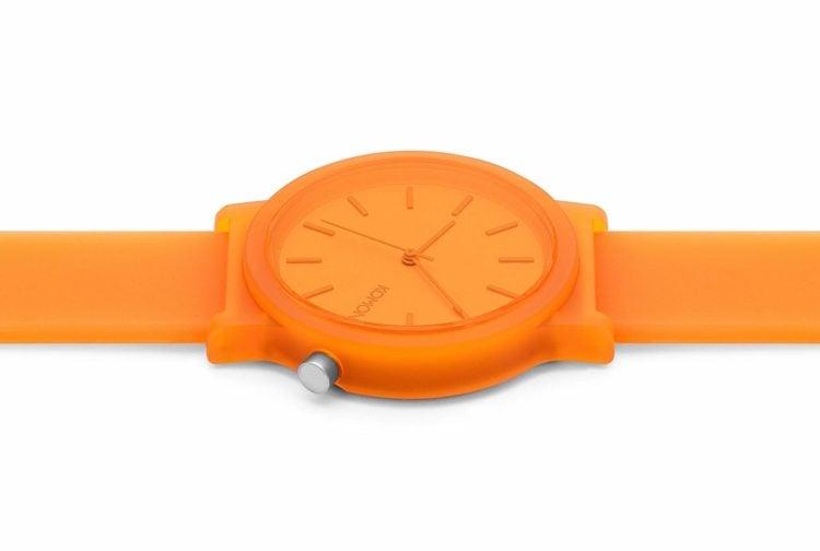 Kasana Neon Orange Gender Neutral Watch