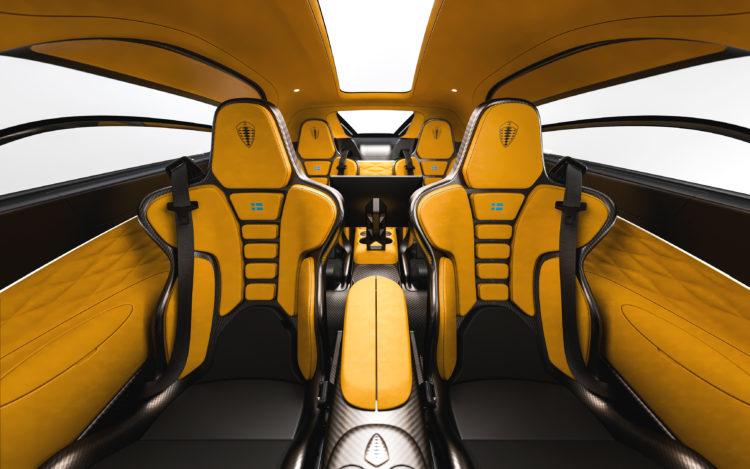 Koenigsegg Gemera interior 1