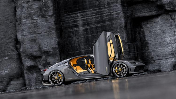 Koenigsegg Gemera side