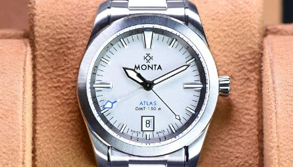 Monta Atlas GMT Monta Blue Dial