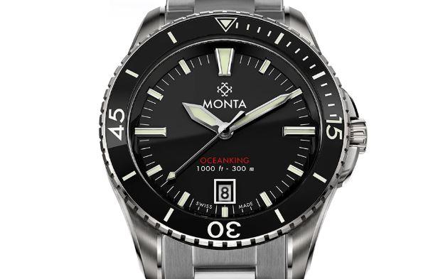 Monta Oceanking Black Dial