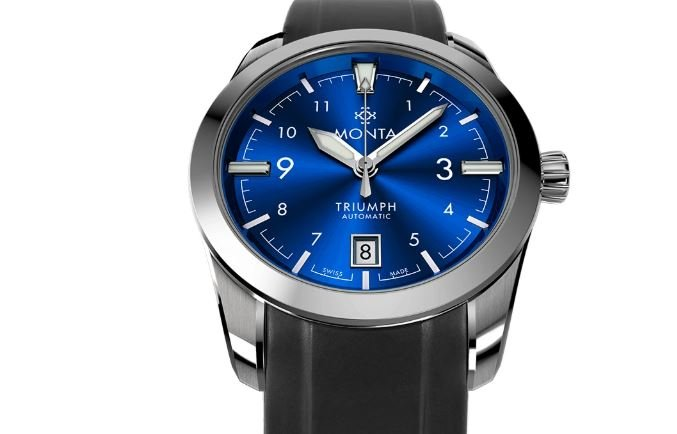 Monta Triumph Blue dial