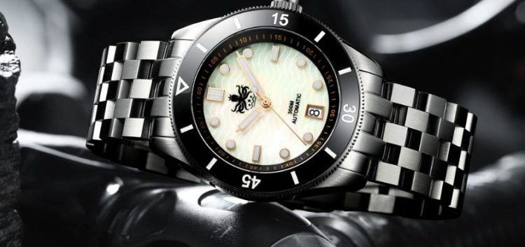 Phoibos Great Wall 500M Automatic Diver Watch PY022C Black Limited Edition