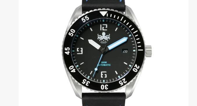 Phoibos Reef Master PY015B DLC 300M Automatic Diver Watch