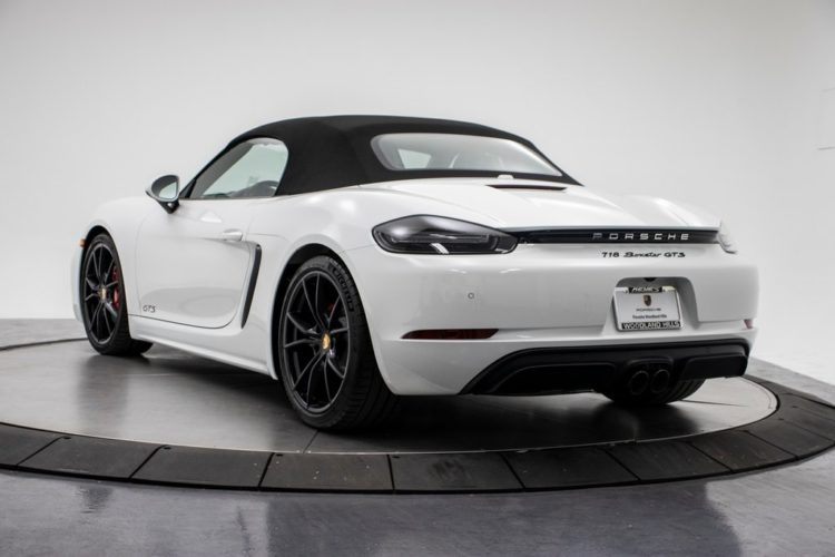 Porsche Boxster 718 GTS back