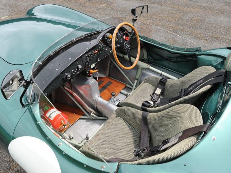 The Aston Martin DB1 interior 2