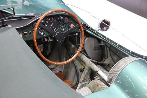 The Aston Martin DB1 interior