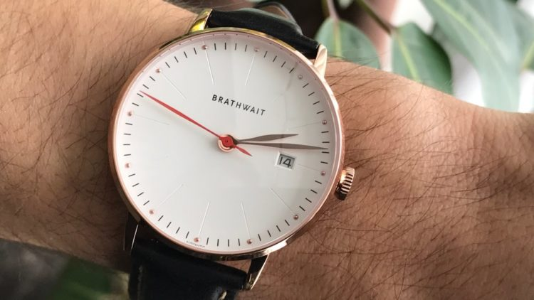 The Brathwait Automatic Minimalist Wrist Watch