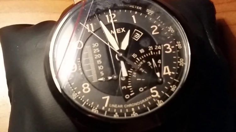 Timex Waterbury Linear Chronograph Watch YouTube photo