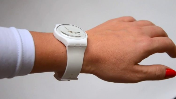 White Rebel Watch by Swatch