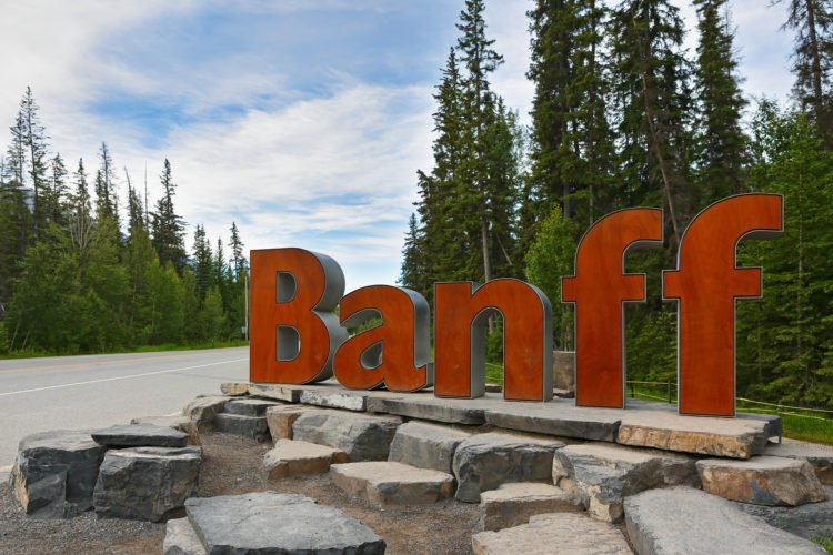 Town of Banff