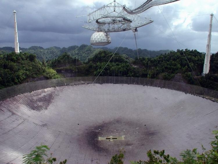 Observatorio de Arecibo to view the stars