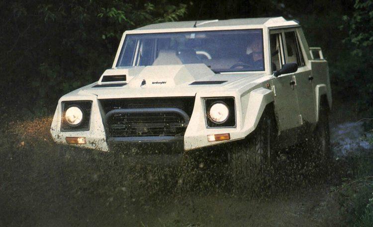 1987 Lamborghini LM002 exterior